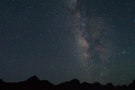 Milky Way Chisos Mtns 8411